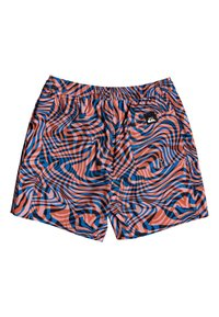 """Quiksilver - OUT THERE 17"""" - Swimming shorts - vibrant orange wildlife - 1"""