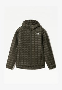 The North Face - W THERMOBALL ECO HOODIE - EU - Regnjakke / vandafvisende jakker - new taupe green matte - 0