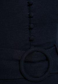 Forever New - BELTED FLIPPY HEM DRESS - Day dress - navy - 2