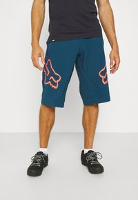 Fox Racing - DEFEND SHORT - kurze Sporthose - dark indo - 0