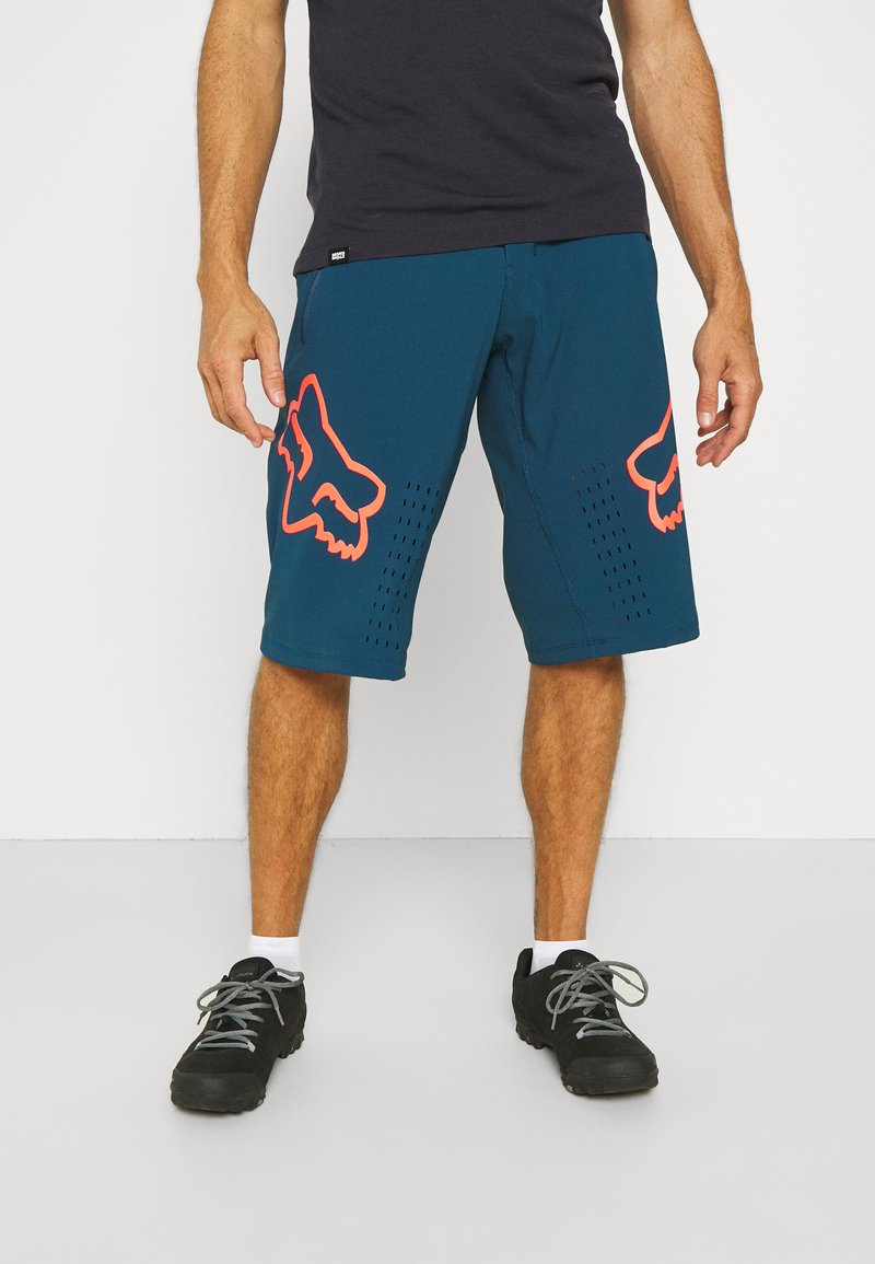 Fox Racing - DEFEND SHORT - kurze Sporthose - dark indo