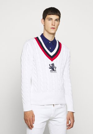 Jumper - white/multi