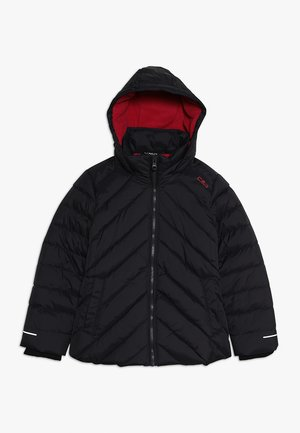 GIRL JACKET FIX HOOD - Winter jacket - antracite