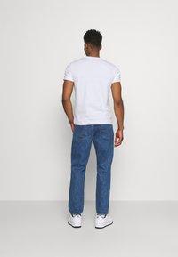 Diesel - T-DIEGO-LAB UNISEX - Print T-shirt - white - 2