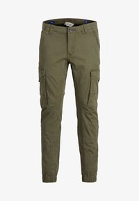 Jack & Jones Junior - Cargobukser - olive night - 0