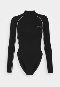 Sixth June - BODY WITH REFLECTIVE PIPING - Long sleeved top - black - 0