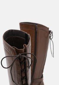 San Marina - SABRAVI - Vysoká obuv - cognac - 5