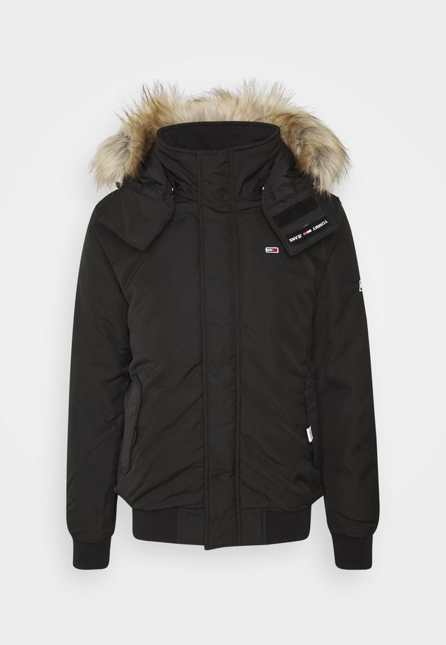TECH BOMBER UNISEX - Winter jacket - black