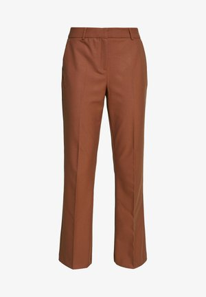 SLFADA  CROPPED FLARED PANT - Bukse - ginger bread