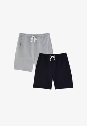 2 PACK - Shorts - dark grey