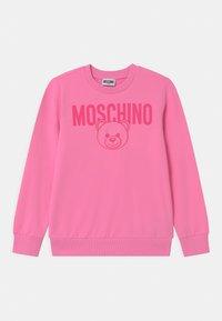 MOSCHINO - UNISEX - Sweatshirt - begonia pink - 0