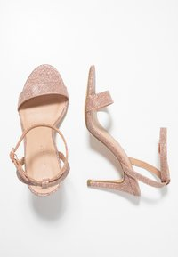New Look - SCORPION - Sandály na vysokém podpatku - rose gold - 3