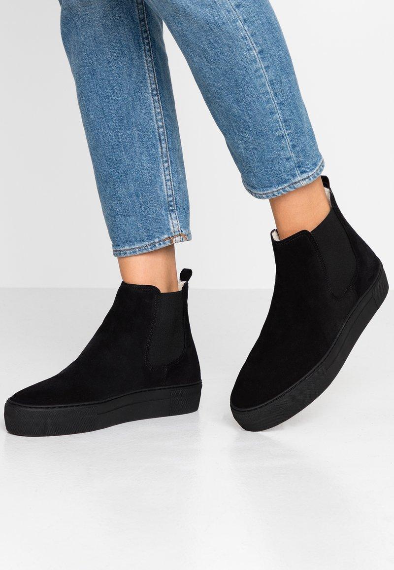 Shepherd - AMBER - Ankle boots - black