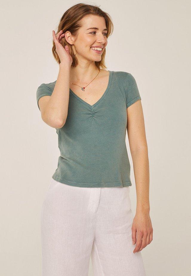 T-shirt basic - mineral