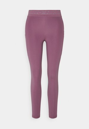 7/8 FEMME - Leggings - light mulberry/white