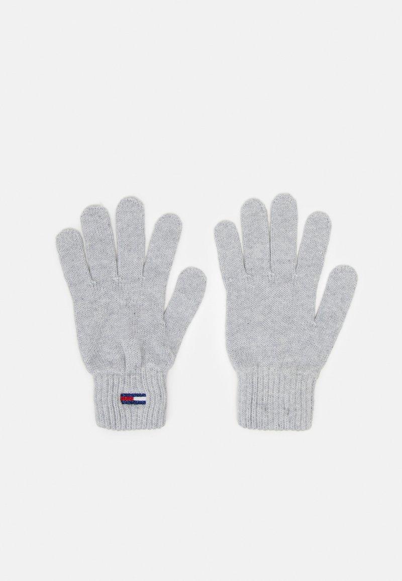 Tommy Jeans - BASIC FLAG GLOVES - Rękawiczki pięciopalcowe - grey