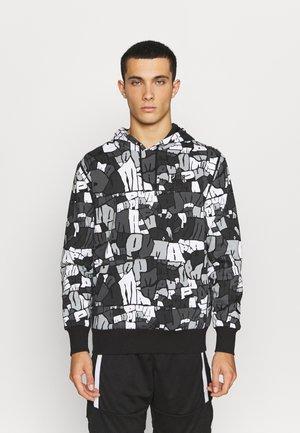 BOOSTER HOODIE - Sweatshirt - black