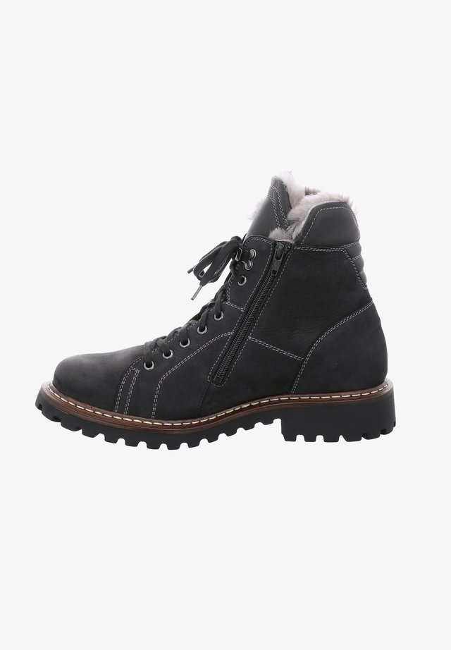 CHANCE - Lace-up ankle boots - schwarz