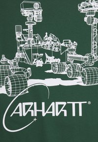 Carhartt WIP - ORBIT  - Print T-shirt - treehouse / white - 2