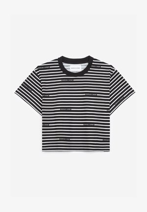 Print T-shirt - bla