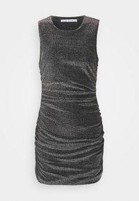 Third Form - MIRAGE HALTER DRESS - Cocktail dress / Party dress - black metal - 3
