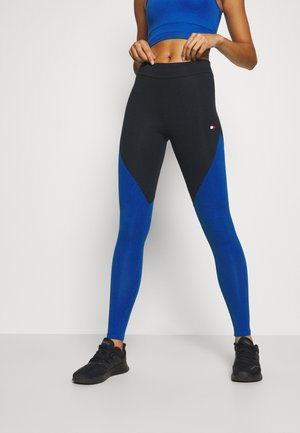 LEGGING LOGO - Leggings - cobalt