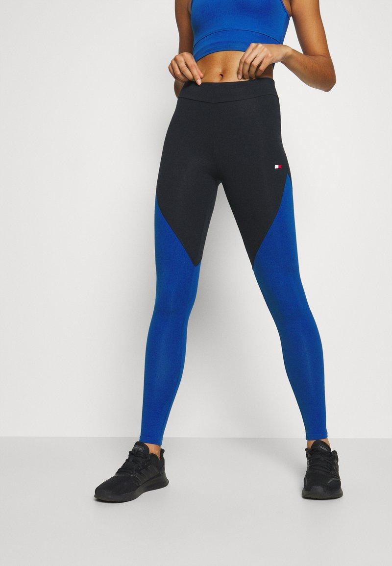Tommy Sport - LEGGING LOGO - Leggings - cobalt