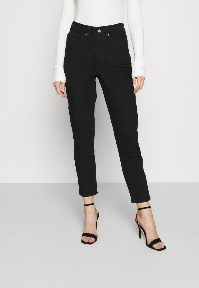 Mom fit jeans - Skinny džíny - black denim