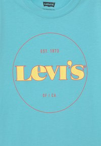 Levi's® - GRAPHIC  - T-shirts med print - blue topaz - 2