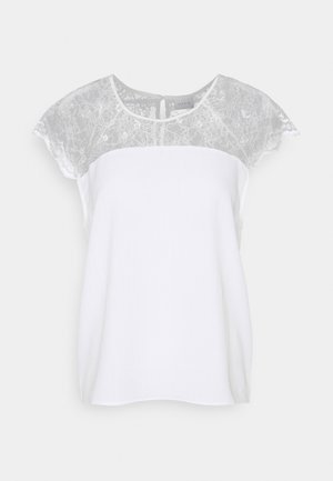 VILOVIE CAPSLEEVE - T-shirts med print - cloud dancer