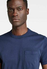 G-Star - STITCH DETAIL POCKET - T-shirt basic - warm sartho - 2