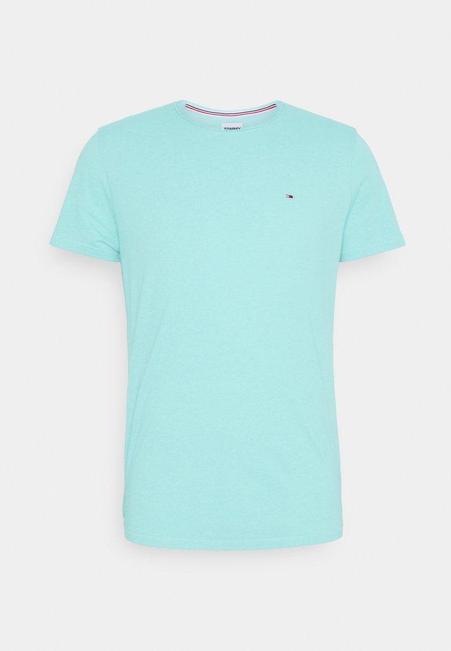 SLIM JASPE C NECK - T-shirt basique - blue