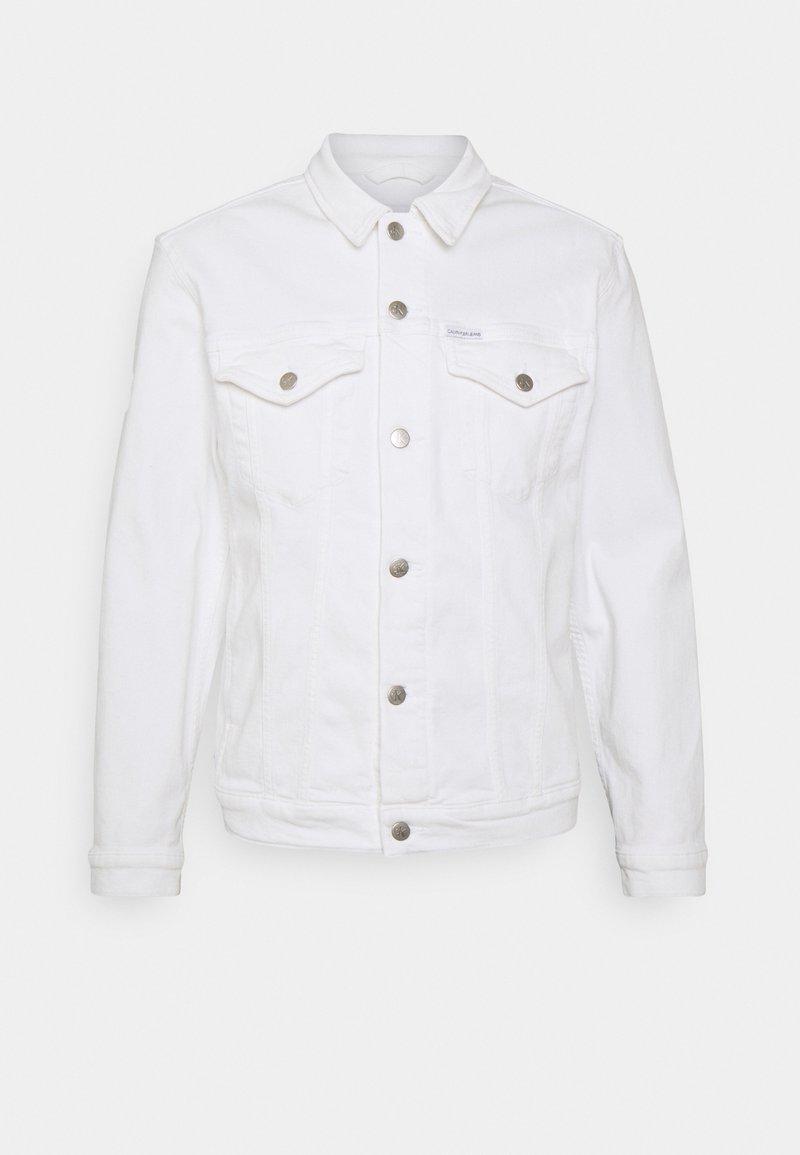 Calvin Klein Jeans - REGULAR 90S JACKET - Denim jacket - white