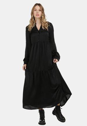 MAXIKLEID - Robe longue - schwarz