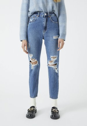 Jeansy Relaxed Fit - stone blue denim