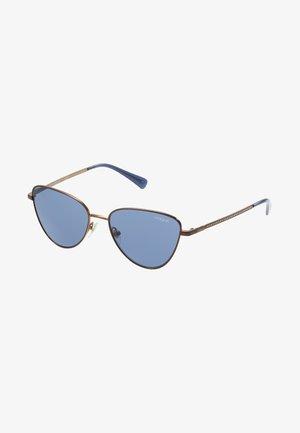 Sunglasses - copper/dark blue