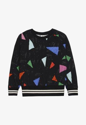 Sweatshirt - black/multi-coloured