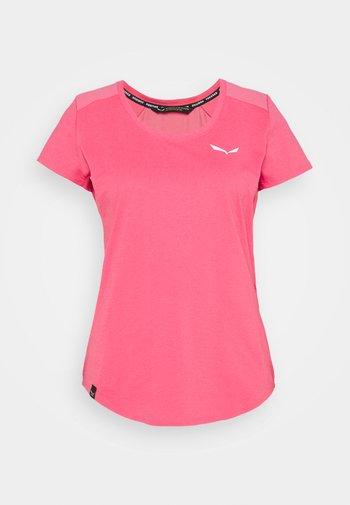 ALPINE - T-shirt basic - camellia rose