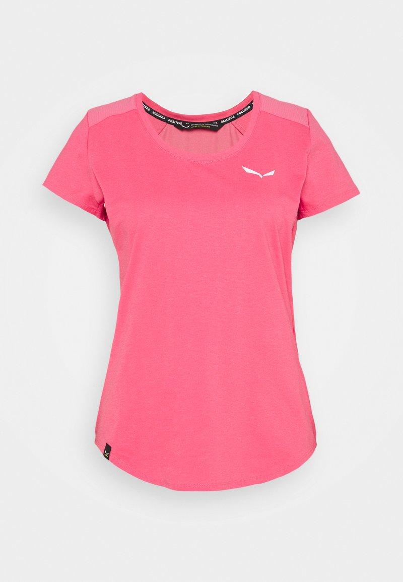 Salewa - ALPINE - T-shirts basic - camellia rose