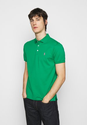 SLIM FIT - Polo shirt - scarab green