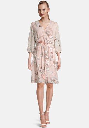 Day dress - rose/cream