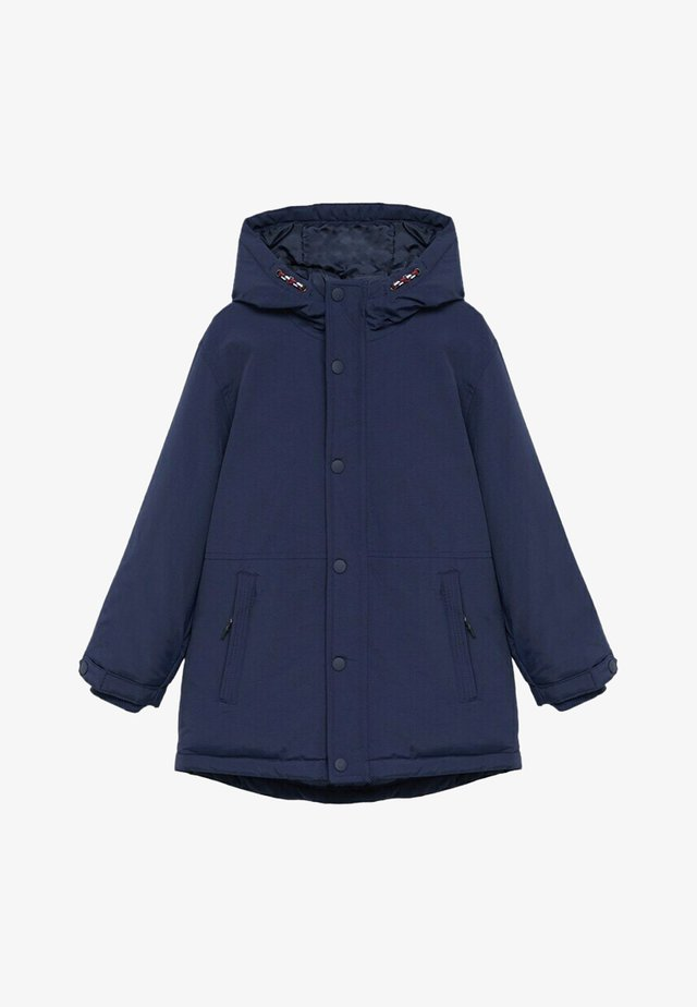 SUZI8 - Zimní kabát - blu marino scuro