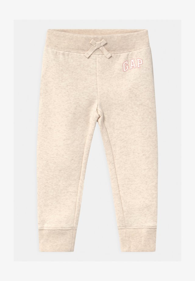 TODDLER GIRL LOGO - Pantalon classique - mottled beige