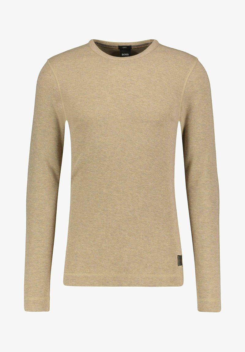 BOSS - Long sleeved top - camel