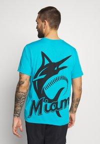 Fanatics - NFL MIAMI MARLINS SHORT SLEEVE  - T-shirt z nadrukiem - blue - 0