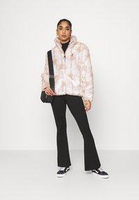 Fila - HARUTO JACKET - Winter jacket - blanc de blanc/sepia rose - 1