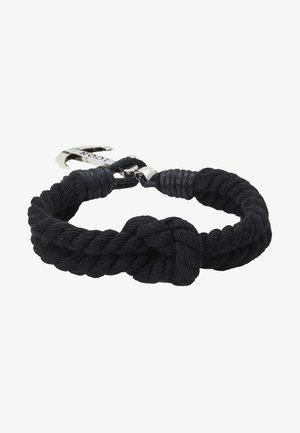 CAPTAIN CRUNCH - Bracelet - black/silver-coloured