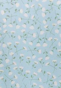 Monki - Skjortekjole - blue dusty light - 5
