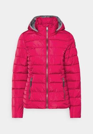 Vinterjakke - pink
