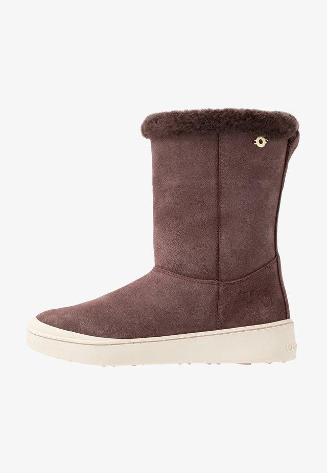 STEG - Winter boots - purple
